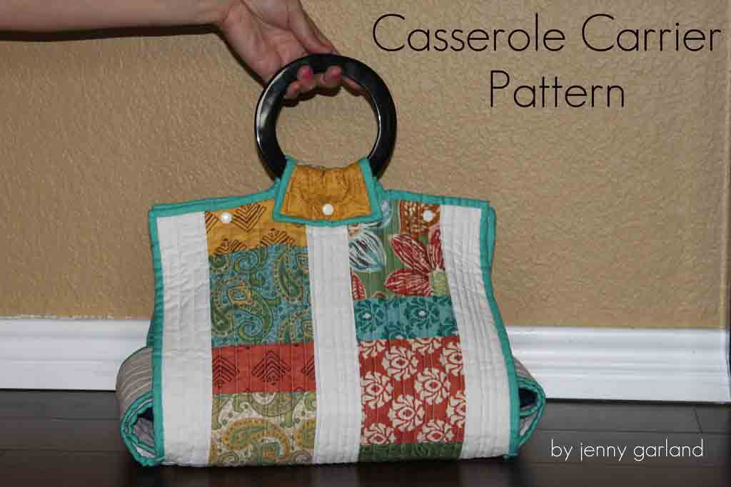 Free Patterns for Sewing Fabric Dishes and Carriers