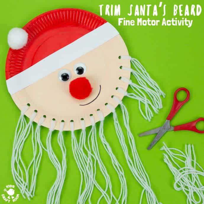 Yarn Beard Santa