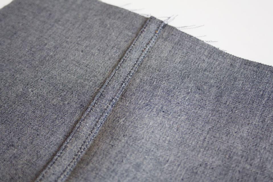 Clean seam finish