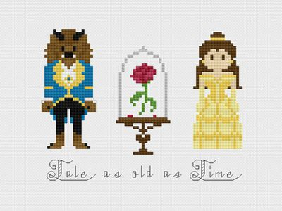 10 Cross Stitch Patterns of Popular Characters