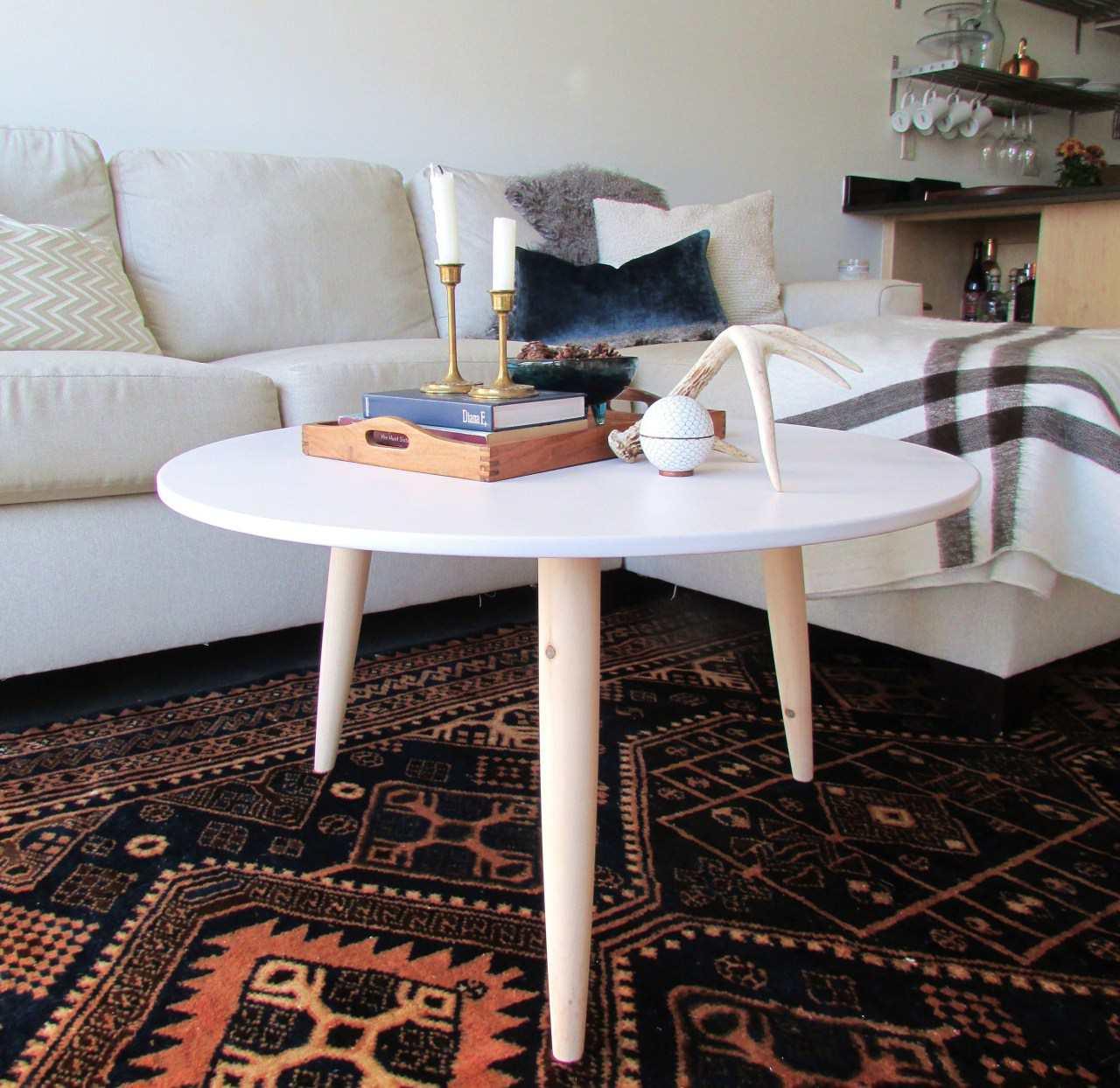 DIY Modern Coffee Table