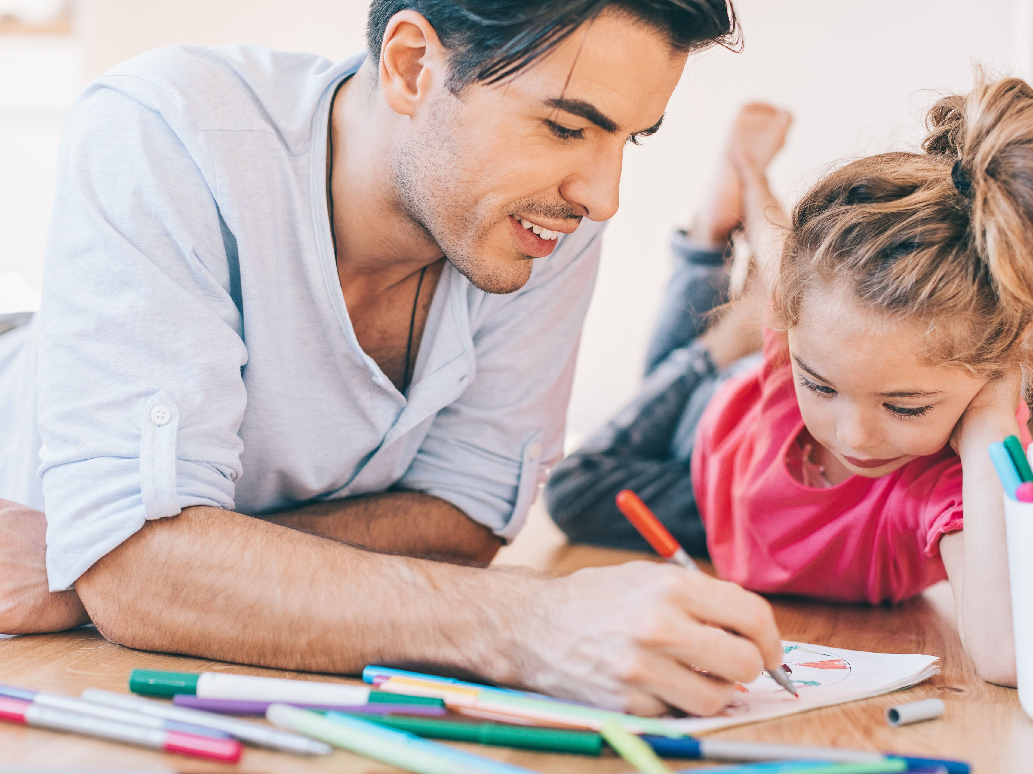 father and daughter coloring pages to her 593ebc8d5f9b58d58a4e81db