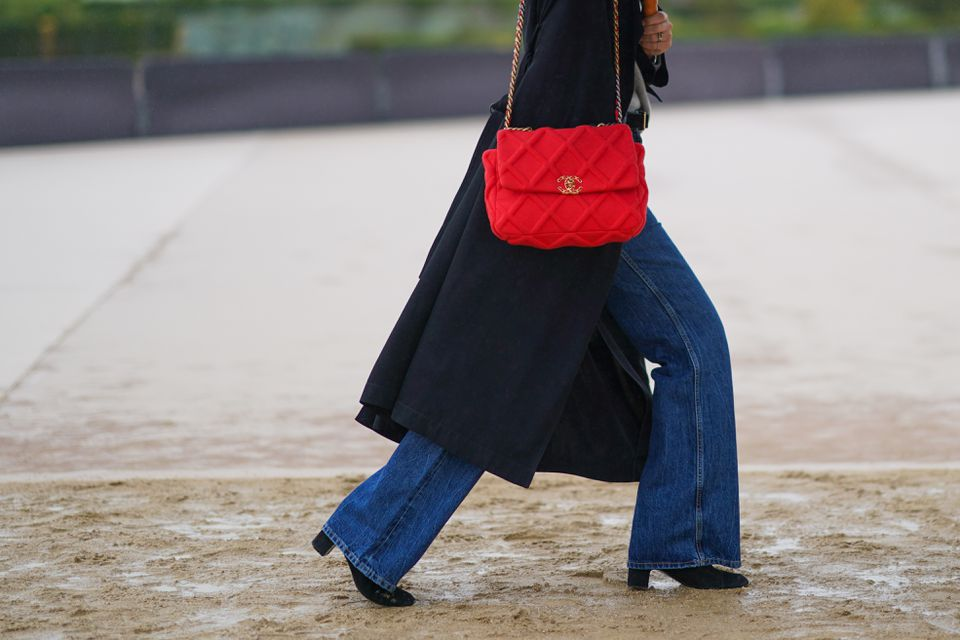 Street Style At Paris Fashion Week - Womenswear Spring Summer 2021 : Day Two