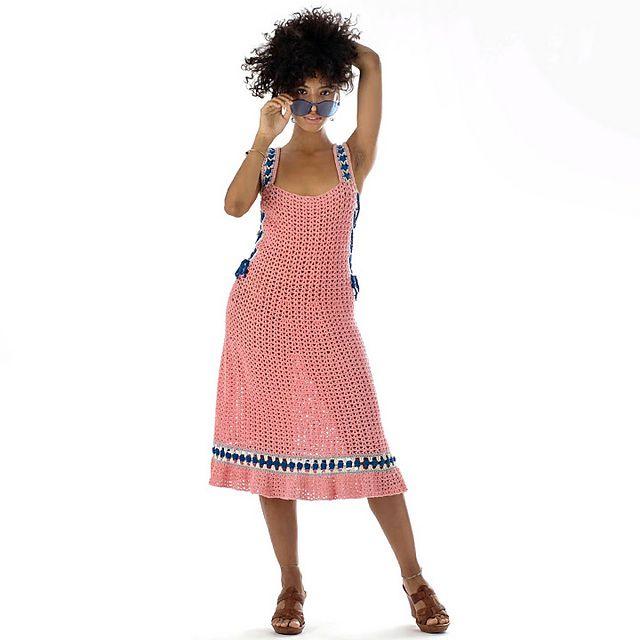 Boardwalk Dress Crochet Pattern