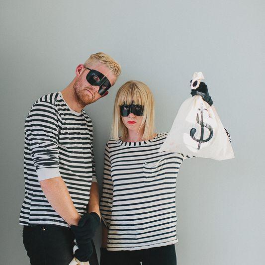DIY bandits couples costume
