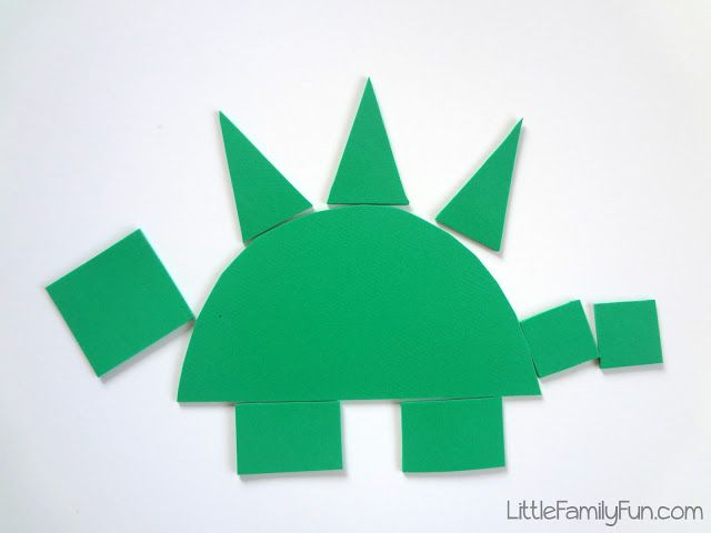Dinosaur kid craft