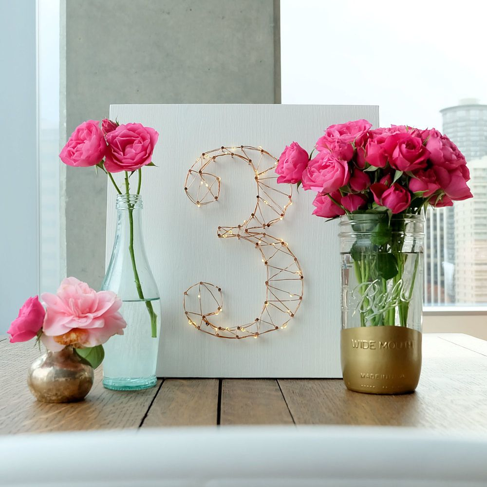 string art table numbers