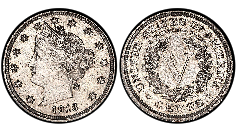 1913 Liberty Head Nickel Profile The