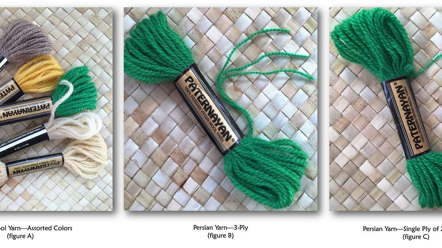 Persian Wool Yarn for Needlepoint