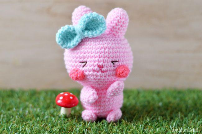 Amigurumi Easter Bunny Free Crochet Pattern