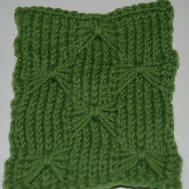 Learn How to Knit the Butterfly Stitch