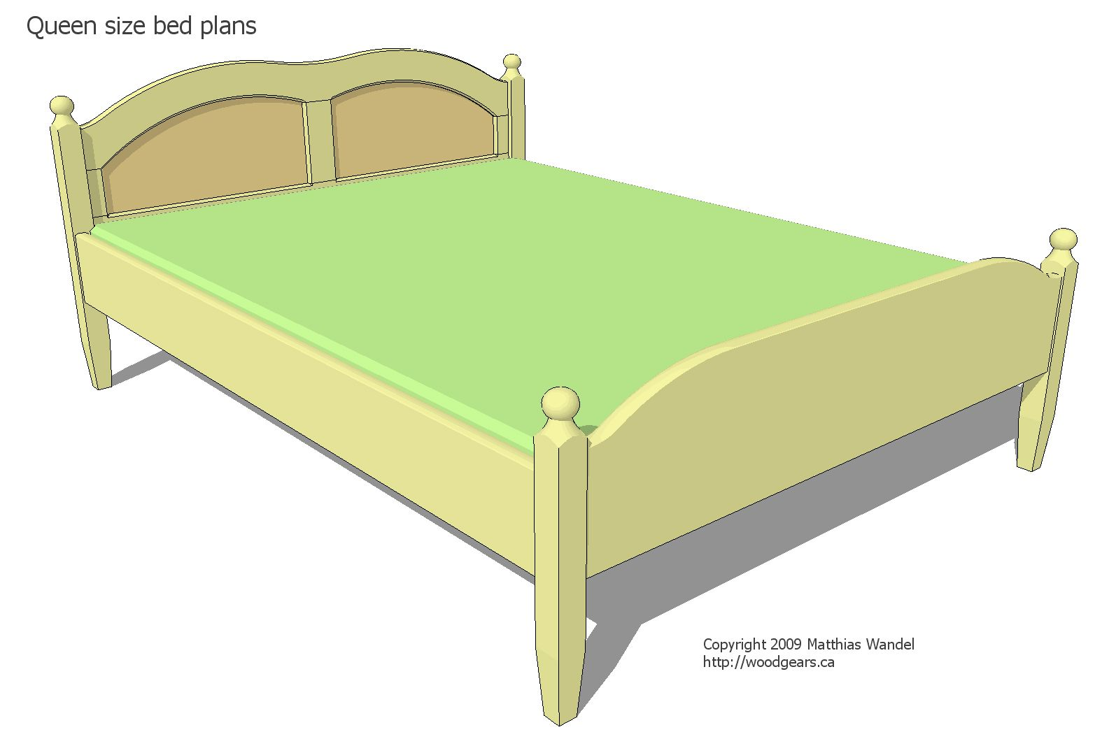 17 Free Diy Bed Plans For Adults And Children