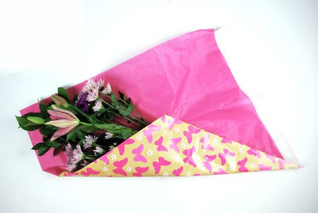 How to gift wrap fresh flowers like a pro tissue paper wrapped flowers mightylinksfo