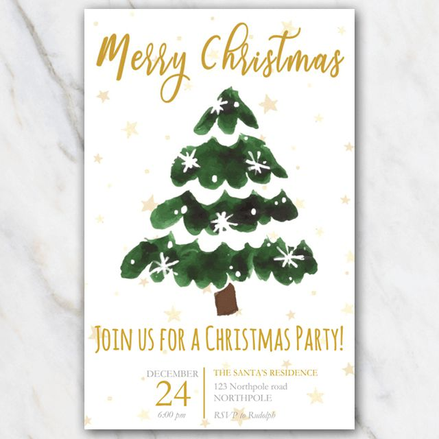 11 Free Christmas Party Invitations That You Can Print