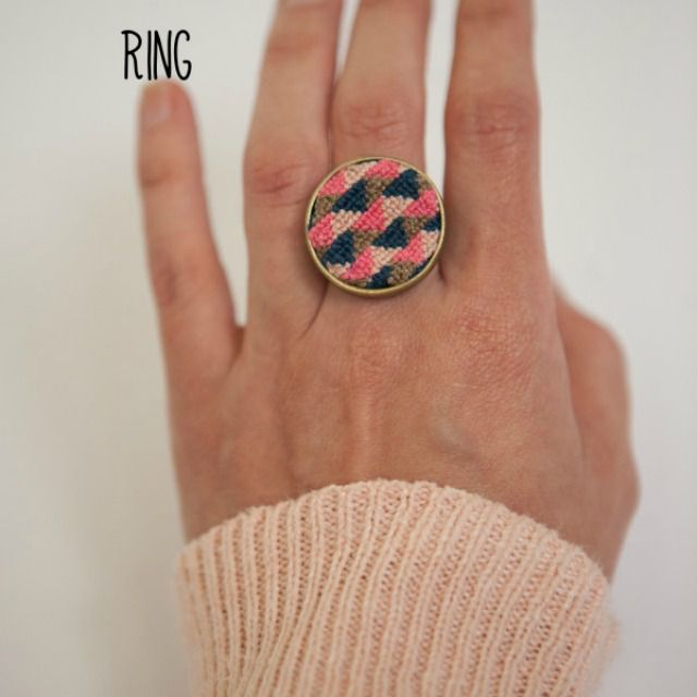 DIY-Cross-Stitch-Ring