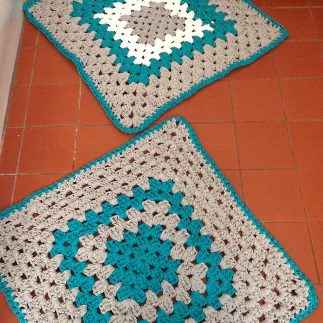 Free Crochet Bath Mat And Towel Patterns