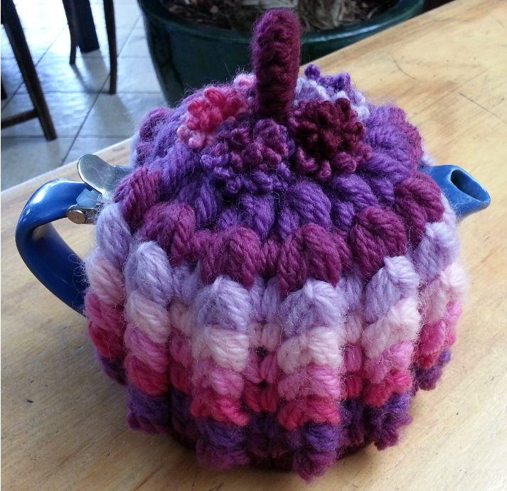 1930's Inspired Crochet Tea Cozy Free Pattern