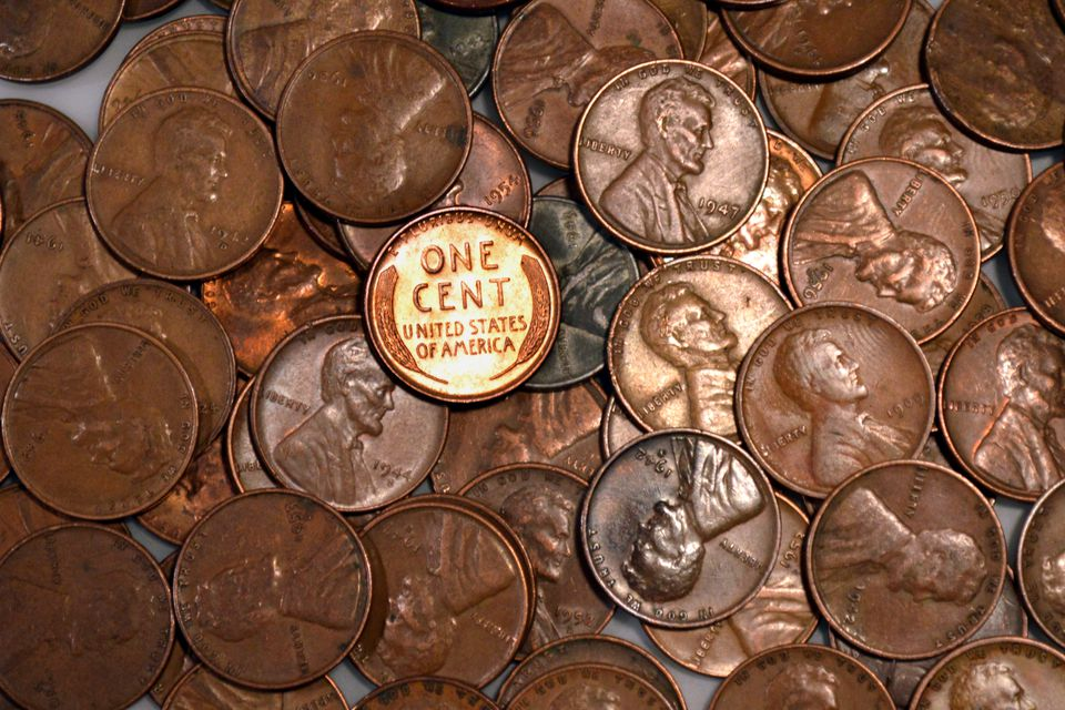 Liincoln wheat cents