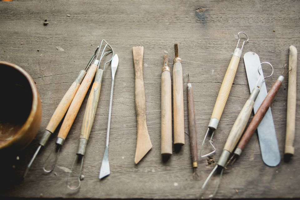 pottery scoring tools