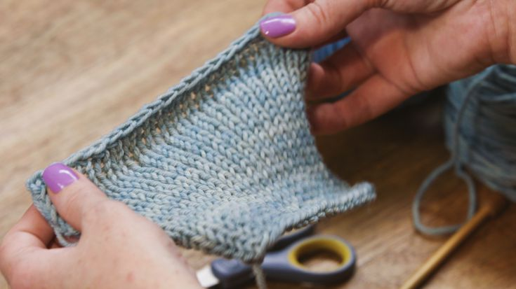 How To Knit The Stretchy Bind Off