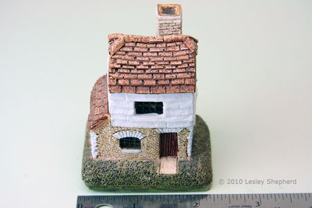 front view of the lilliput lane collectible cottage millers