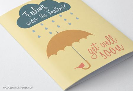 free printable get well cards and templates