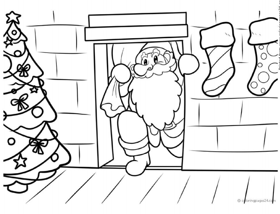 coloring pages 24 printable christmas coloring pages