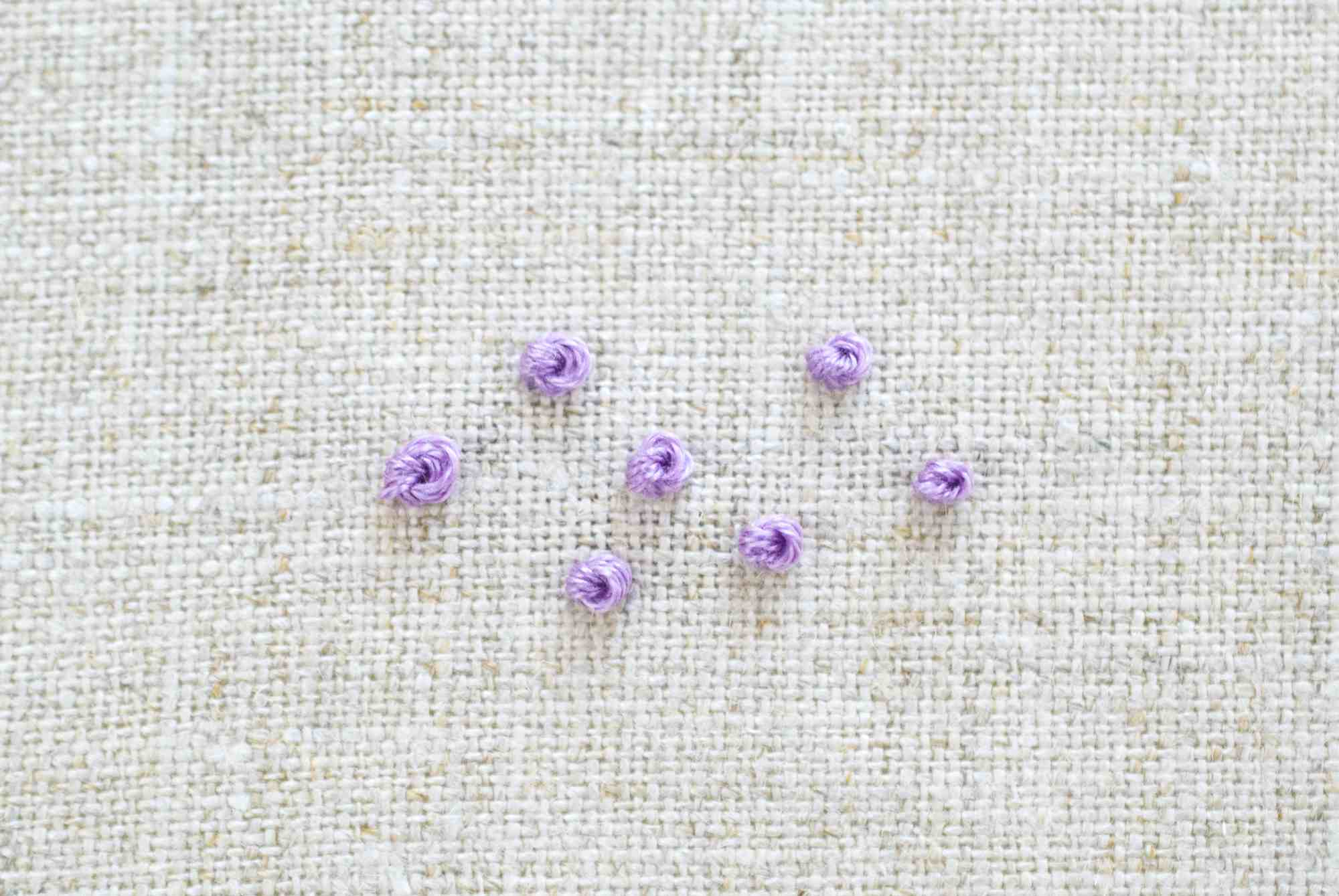 French Knot Example