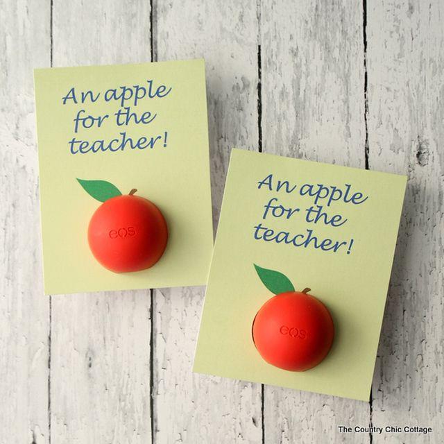 14 DIY Back To School Teacher Gifts