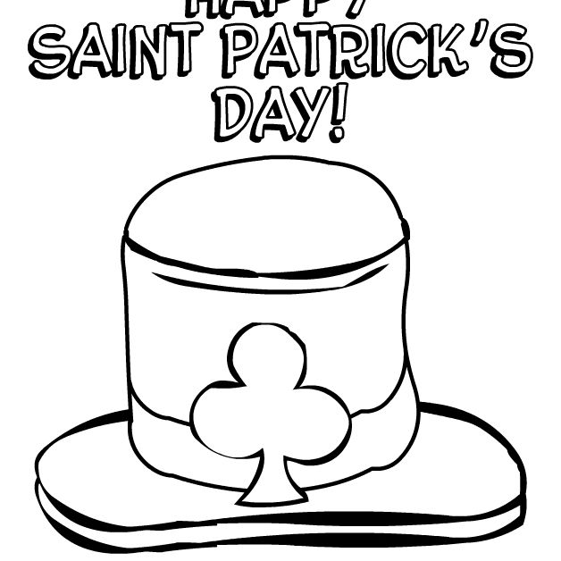 Free, Printable St. Patrick's Day Coloring Pages | 628x628