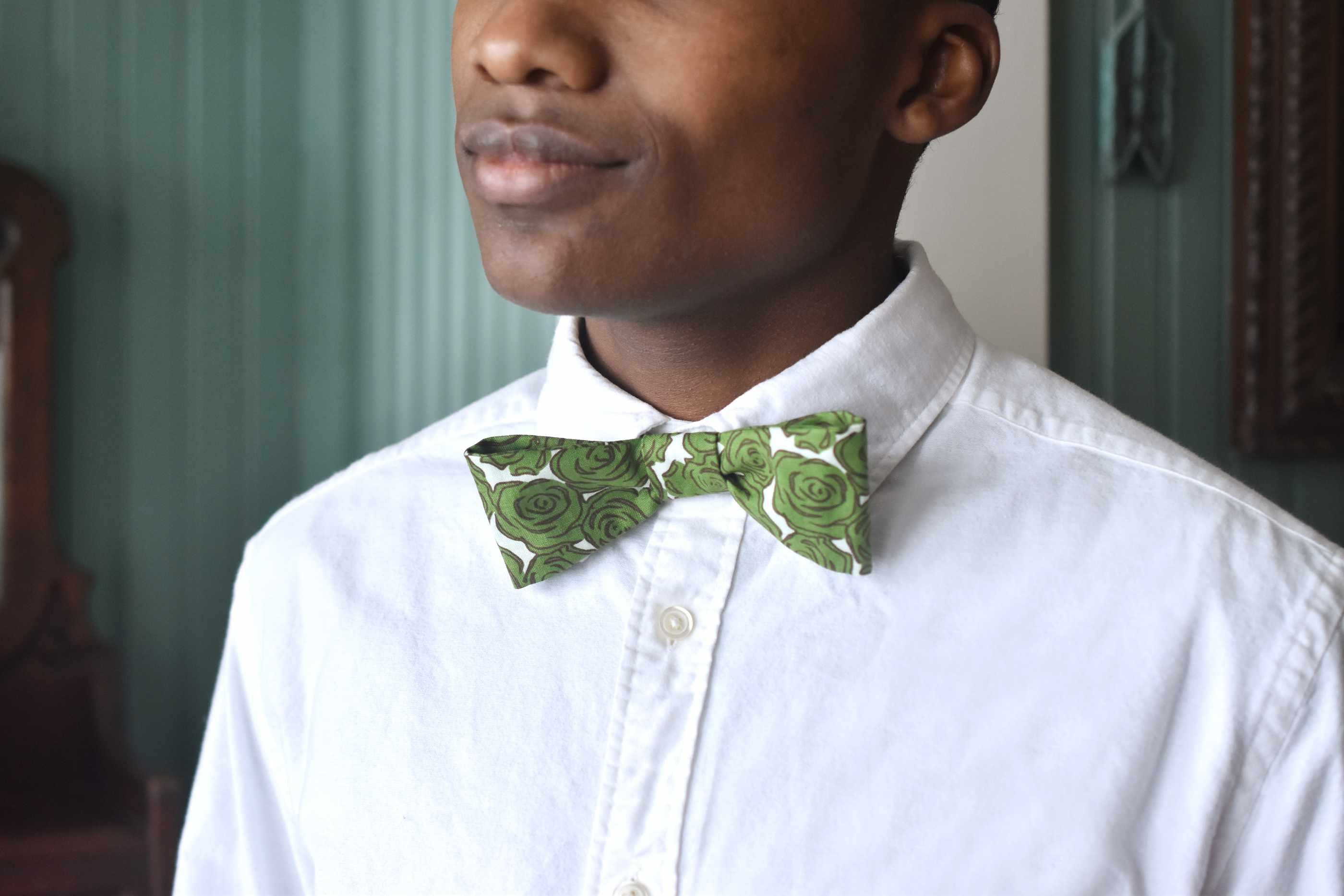 Easy-Sew Adjustable Bow Tie