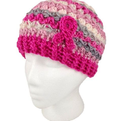 10 Breast Cancer Awareness Crochet Patterns