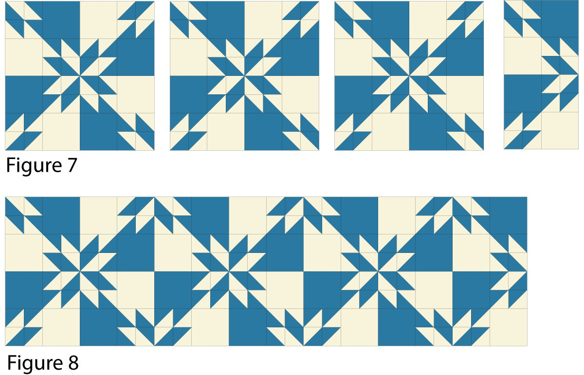 Easy Hunters Star Quilt Pattern