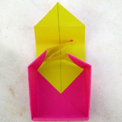 folding in cut edges