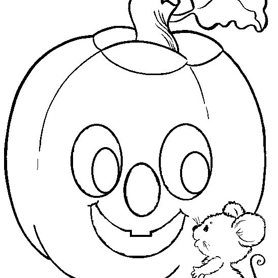 Halloween Printable: Halloween goblin coloring pages | 548x548