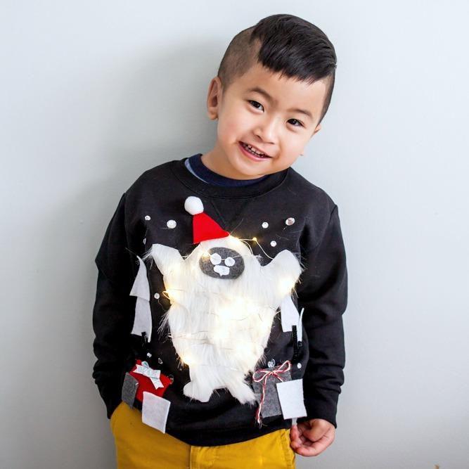 Abominable Snowman Sweatshirt