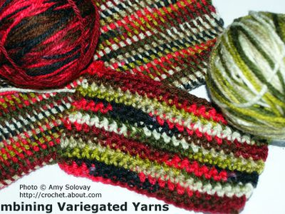 Secrets For Crochet Success With Variegated Yarn Beauteous Variegated Yarn Crochet Patterns