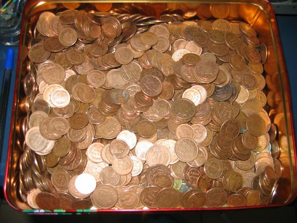 Counterfeit Indian Head pennies and large cents made by a major Chinese fake coin operation.