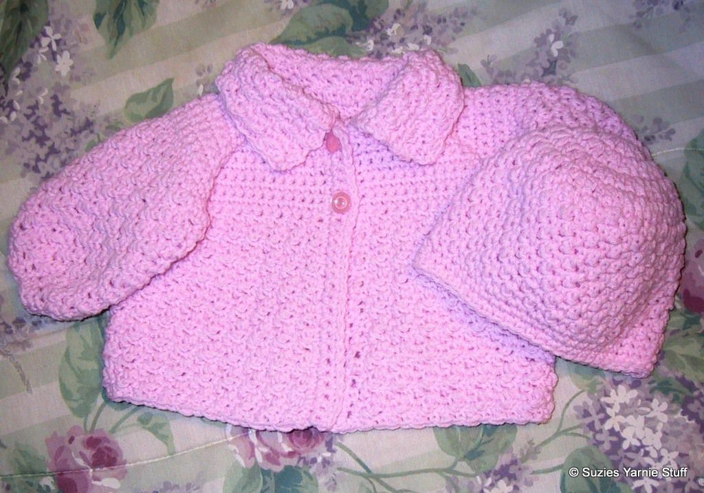 87e20986e639 15 Adorable Baby Hat Crochet Patterns