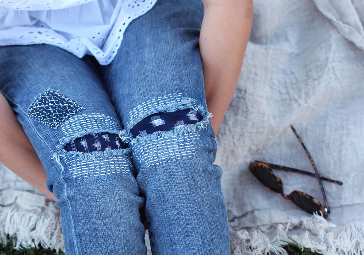 10 Ways to Mend and Repair Clothes Using Embroidery