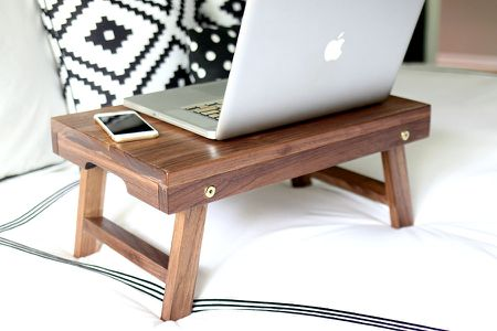Folding Lap Desk from One Board