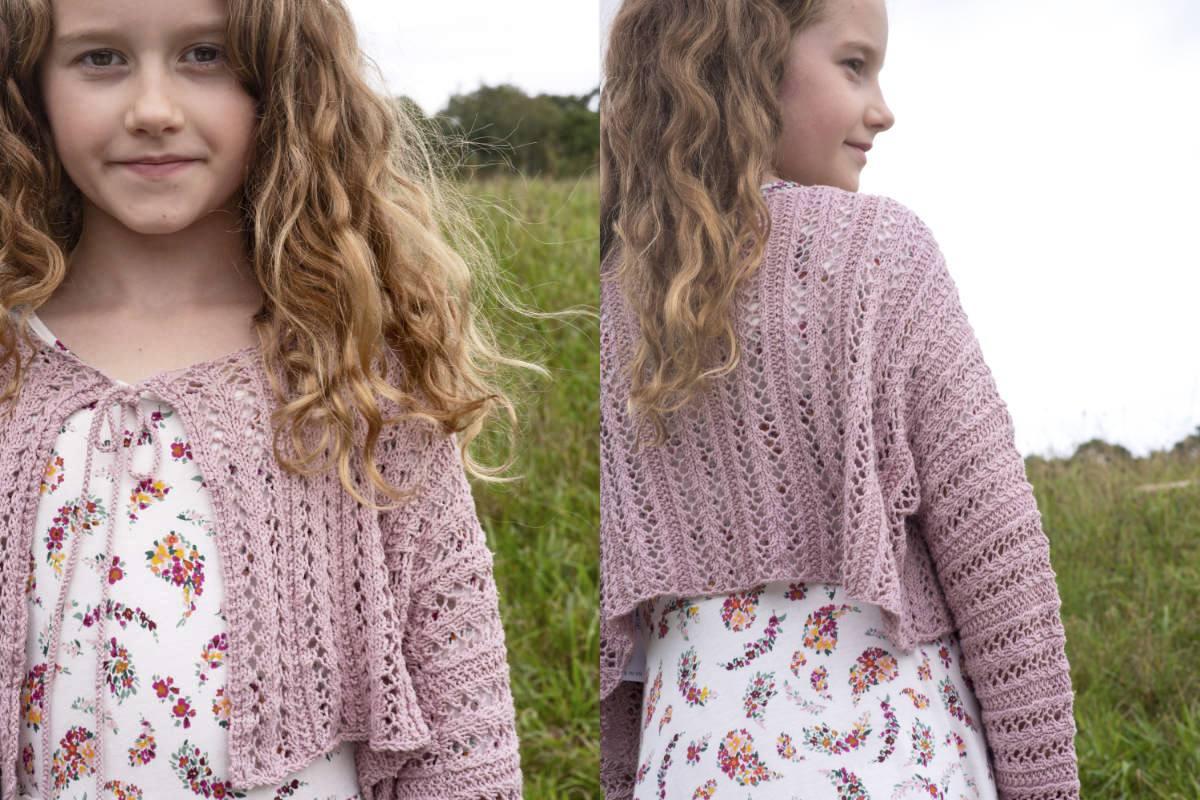 Navia Lace Cardigan Knitting Pattern