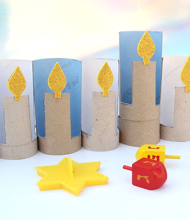20 Hanukkah Crafts For Kids