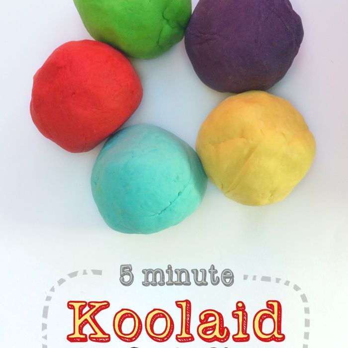 5 Minute Koolaid Dough
