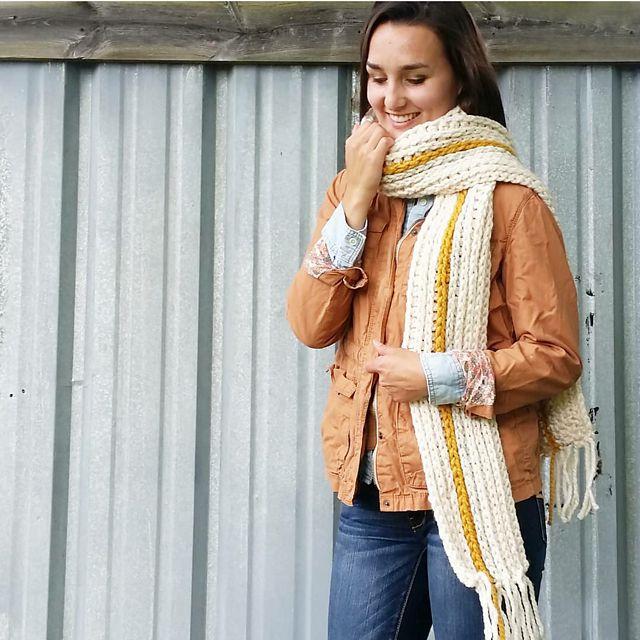 Mega Scarf Crochet Pattern