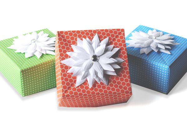origami box paper craft