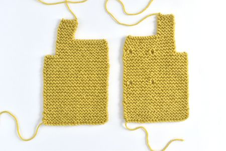 Basic Instructions How To Knit A Toggle Baby Sweater
