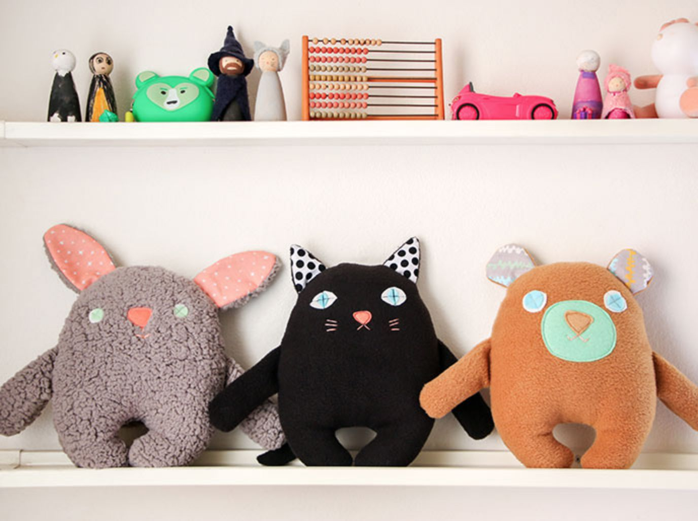 Craft A Stuffed Bear And Friends For Giving
