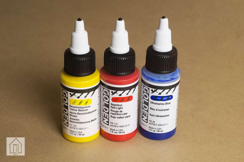 Golden High Flow Acrylic Paint Set