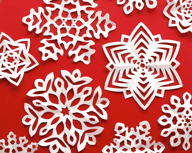 60 Amazing Snowflake Templates And Patterns Adorable Paper Snowflake Pattern